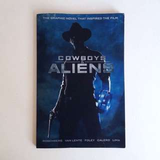 Cowboys And Aliens Comic Book