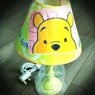 半價❌全新廸士尼winnie The Pooh 枱燈/床頭燈