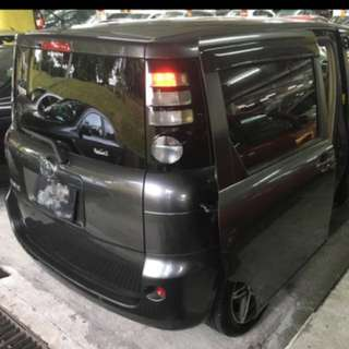 Toyota Sienta 1.5A For Rent Uber XL And Grab 6seater