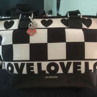 Brand Love Moschino Canvas America Totebag