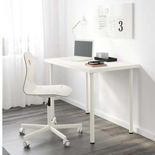 LINNMON TABLE - IKEA WHITE DESK