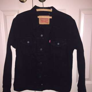 Levi Strauss Denim Jacket Black