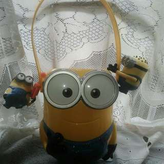 REPRICED Minion Candy Holder with 2 Mini Minions