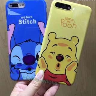 winnie the pooh and stitch phone casing
