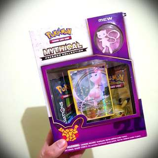 (RARE) POKEMON TCG - POKEMON20's MEW