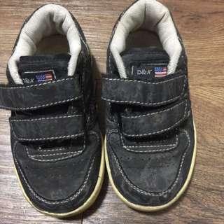 D&N Black Shoes for little boys