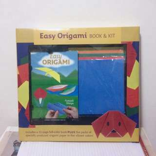 Easy Origami Book And Kit