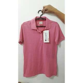 Champion Pink Polo Shirt