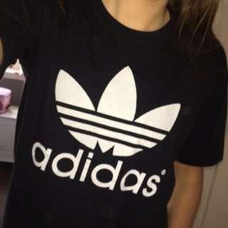 Black Adidas Top
