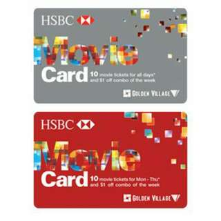 HSBC Movie Card Voucher