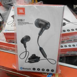 (New) JBL E25BT BLUETOOTH IN-EAR HEADPHONES 1year Warranty