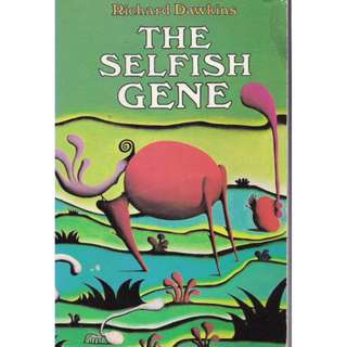 The Selfish Gene by Richard Dawkins (English)