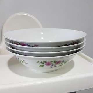 Large Porcelain Bowls