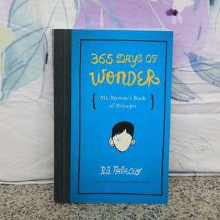 365 Days of Wonder - R. J. Palacio