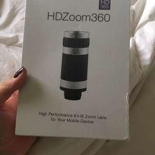 Smart Phone Zoom Lens