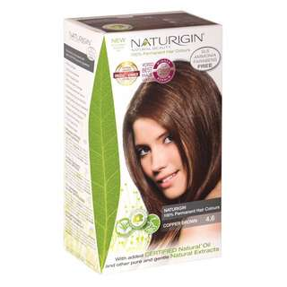 SAVE OVER 23%!  NATURIGIN (4.6 COPPER BROWN) 100% PERMANENT ORGANIC HAIR COLOR