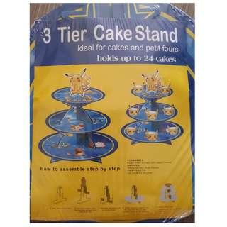 Pokeman, pikachu cupcake stand