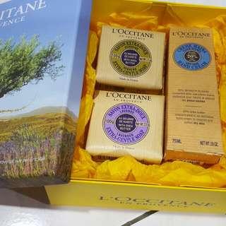 Branded L'OCCITANE EN PROVINCE soup X 2 & Hand Cream X 1