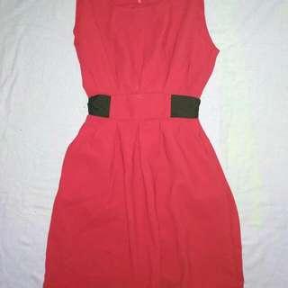 Red Semi/formal Dress