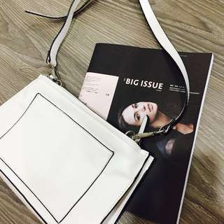 Zara 白色小包