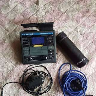TC Helicon Voicelive Touch 2 Set with MP 75 TC Helicon Microphone + free Microphone chord