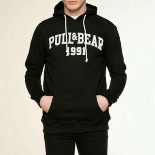 Jaket Pull And Bear Hitam