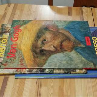 3 Basic Art Series From Taschen: Van Gogh, Renoir And Picasso