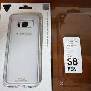 s8 透明塑膠手機套