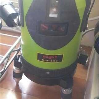 MIGHT MLS443G日本綠光八線雷射墨線儀 4V4H 日本製