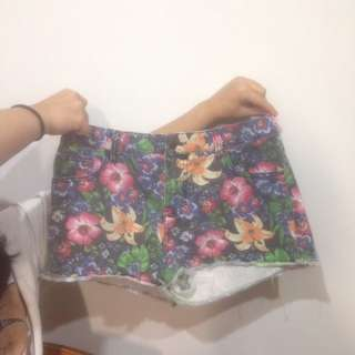 Floral Pretty Shorts
