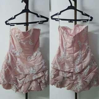 Jessica Pink Dress