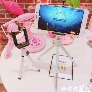 韓國網紅直播自拍迷你桌上伸縮腳架