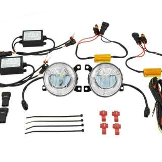 VolkswagenScirocco LED FrontFog Light + DRL Kit