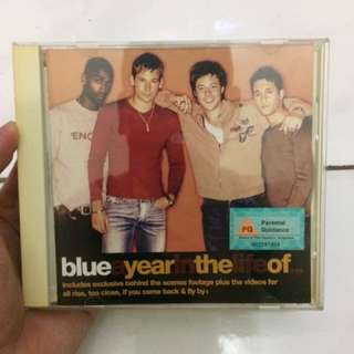 VCD Musik Lagu Original - Blue - The Best Year Of (Collector edition)
