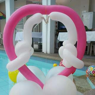 Balloon Decor For Birthday. Events Party