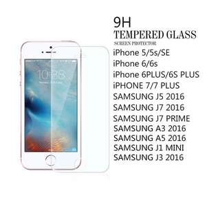 Tempered Glass Samsung Oppo Vivo Apple Iphone
