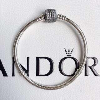 Pandora Pave Clasp Bracelet