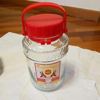 薑醋玻璃盅10斤