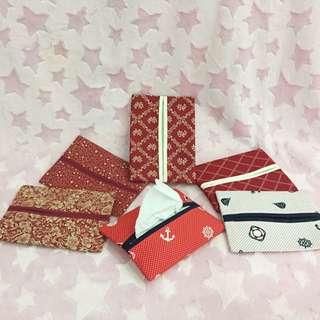 Handmade Tissue Pouch (Pocket Size)