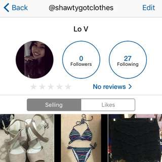 CHECK OUT MY DEPOP