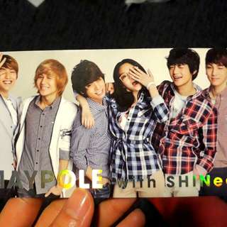 SHINee Maypole photo  (rare)