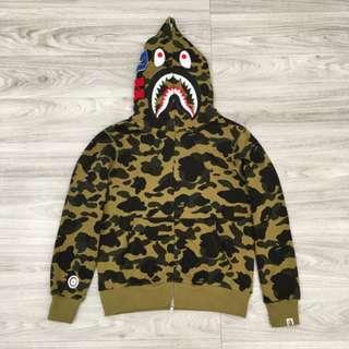 98a95030691b ✨PO✨ Bape Shark Jacket