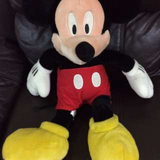 Preloved Mickey Mouse Soft Toy