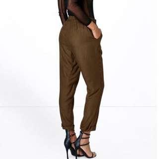 Boohoo Khaki Pants