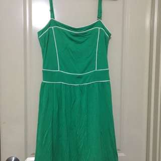 Green Strappy Dress