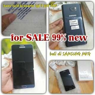 Samsung NOTE 5 DUOS BARU!!