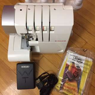 SINGER 14CG754 ProFinish Serger (Used Twice)