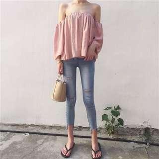 Fleur Top In Pink