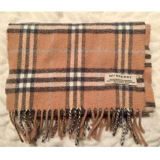 Authentic Burberry Classic Icon Check Scarf