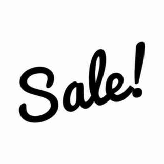 Sale On Selected Item